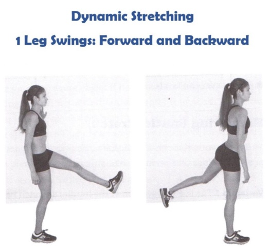 18 การยืดกล้ามเนื้อแบบเคลื่อนไหว - 1