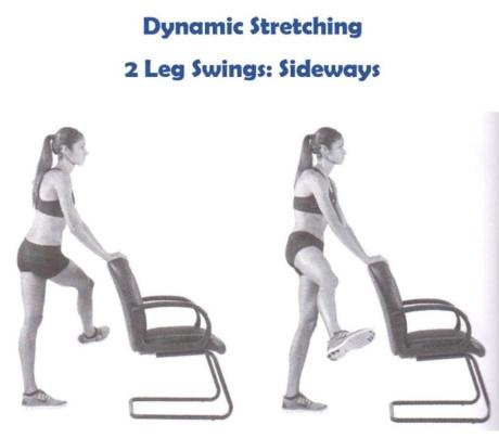 18 การยืดกล้ามเนื้อแบบเคลื่อนไหว - 2