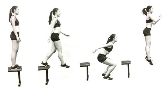 48 การฝึกซ้อมพลัยโอเมตริกเพื่อต่อสายไฟวิ่งให้กับระบบประสาท - ตอนที